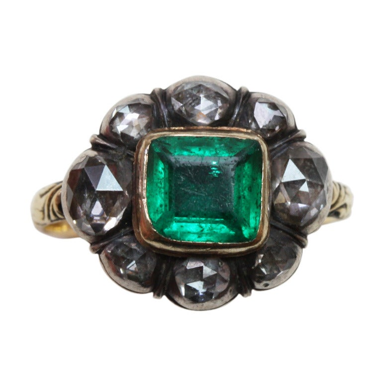 Th Century Emerald Ring