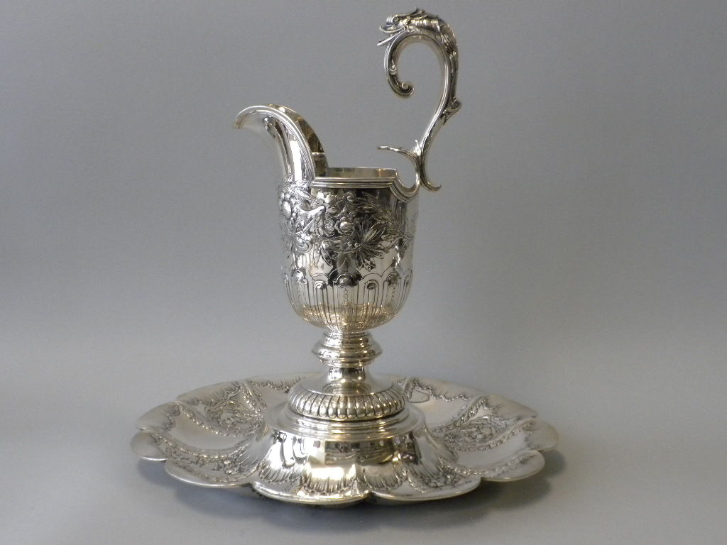 Gorham Mfg Co Sterling George Ii Style Ewer On Stand Circa 1910 At 1stdibs