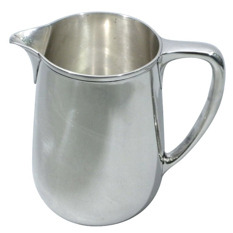 TIFFANY & CO. Sterling Silver Water Pitcher, Circa 1920 1
