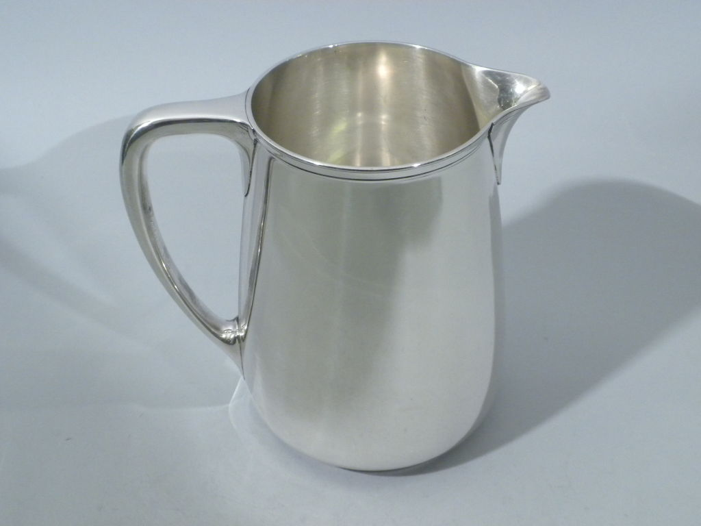 TIFFANY & CO. Sterling Silver Water Pitcher, Circa 1920 2