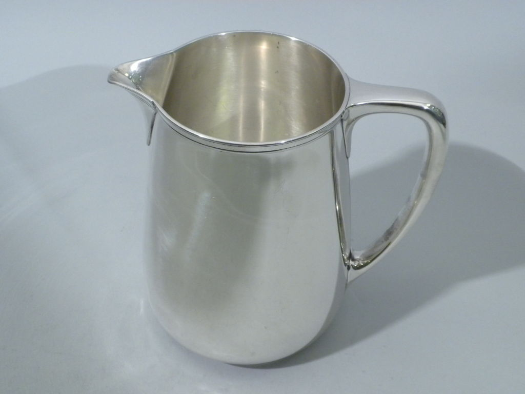 TIFFANY & CO. Sterling Silver Water Pitcher, Circa 1920 3