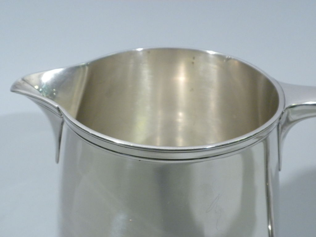 TIFFANY & CO. Sterling Silver Water Pitcher, Circa 1920 4