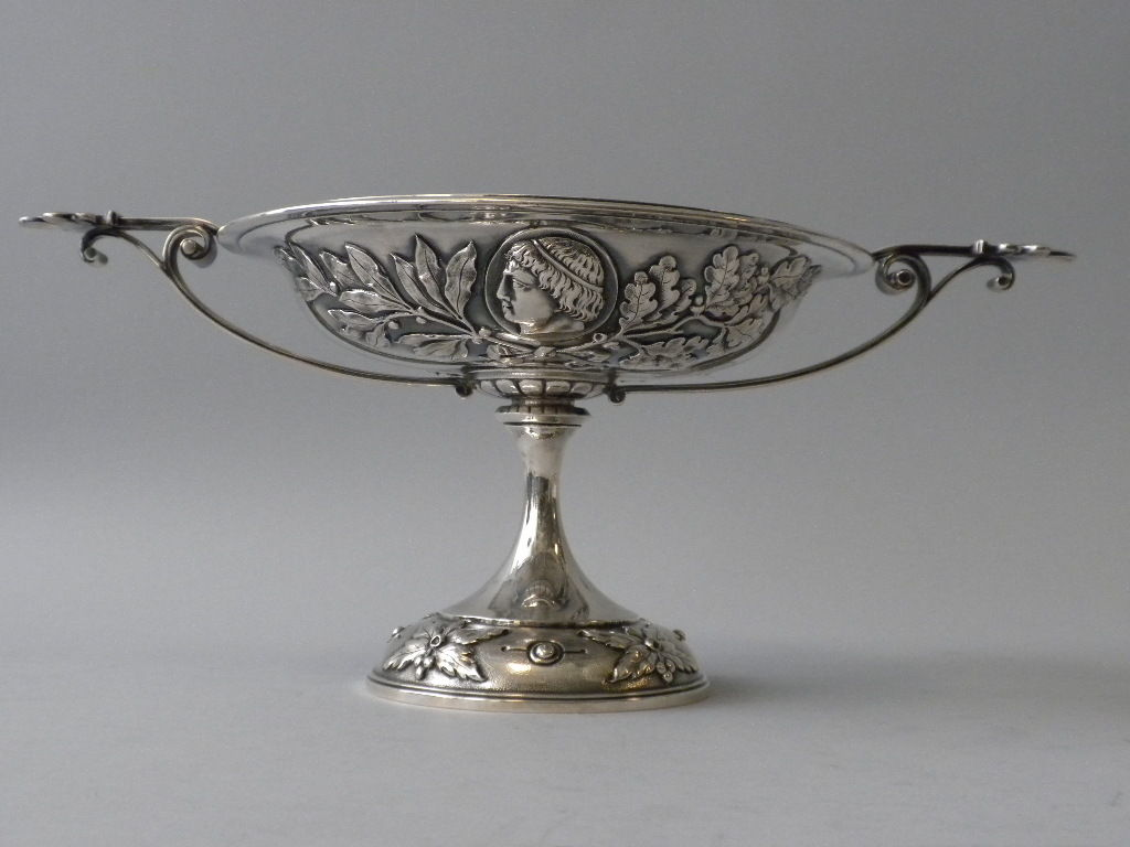 Antique tiffany and co sterling compote new york circa for Antique jewelry stores nyc