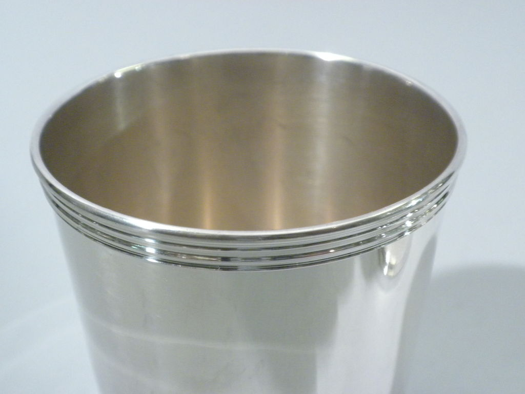 Pair Of Sterling Silver Mint Julep Cups Circa 1950 At 1stdibs