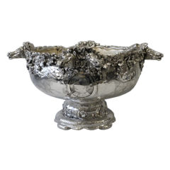 Tiffany & Co. Sterling Silver Punch Bowl And Ladle
