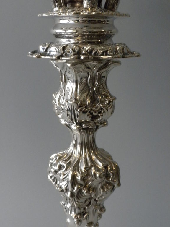 Pair of  Howard & Co. Sterling Candelabra image 4