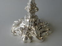 Pair of  Howard & Co. Sterling Candelabra thumbnail 5