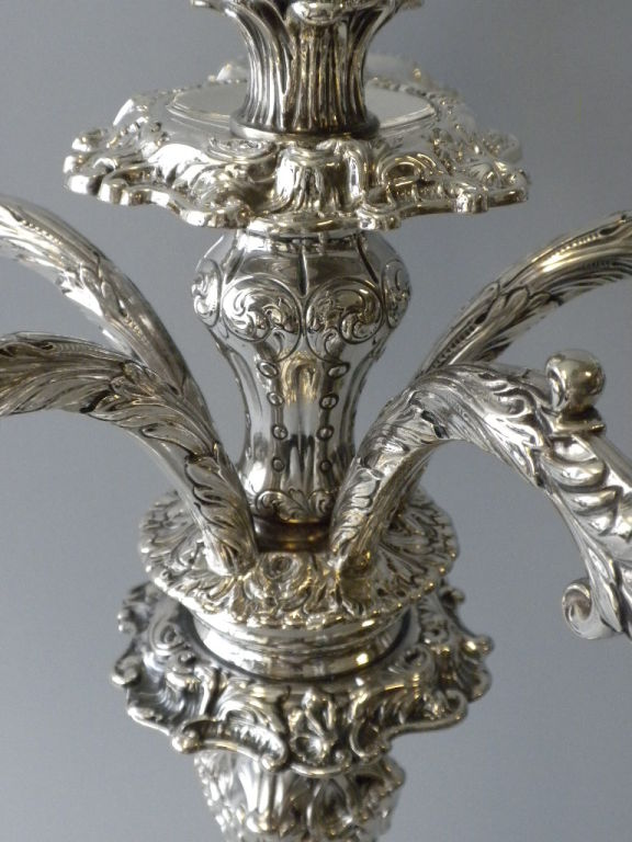 Pair of  Howard & Co. Sterling Candelabra image 6