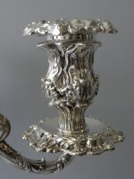 Pair of  Howard & Co. Sterling Candelabra thumbnail 7