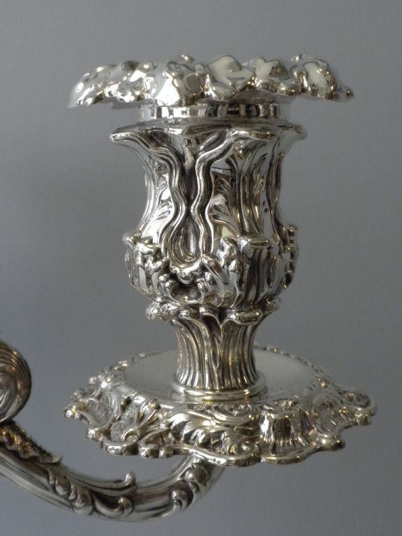 Pair of  Howard & Co. Sterling Candelabra image 7
