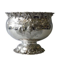 Reed & Barton Sterling Punch Bowl, Circa 1900