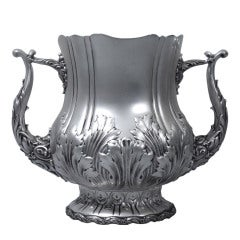 Large Classical 2-Handled Sterling Silver Trophy Cup by Whiting