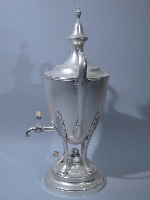 Tiffany American Sterling Silver Coffee Urn C 1920 At 1stdibs
