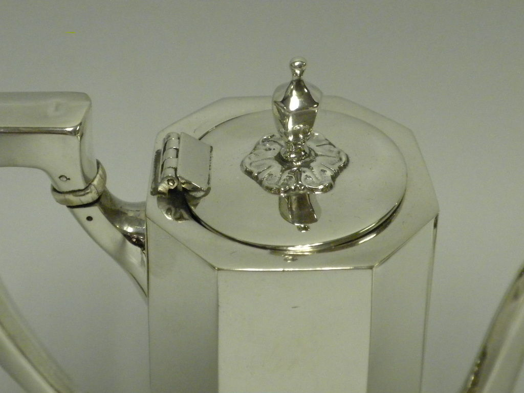 TIFFANY & CO Sterling Silver 3 Piece Demitasse Set, Circa 1950 image 3