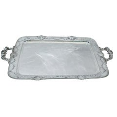 Whiting Imperial Queen Sterling Silver Tea Tray 1909
