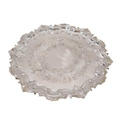 Georgian-Style Serving Tray - Canadian Sterling Silver - by Birks / Roden