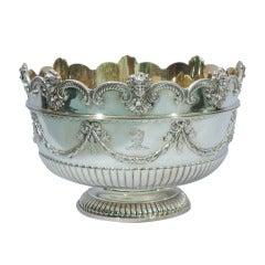 Victorian Monteith Bowl by James Garrard 1886