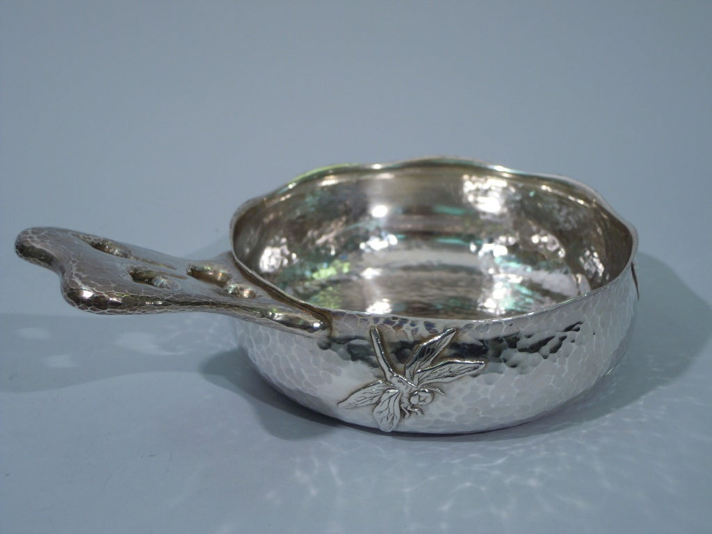 Tiffany And Co Baby Set Hand Hammered Sterling Silver In
