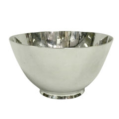 Tiffany & Co. Art Moderne Sterling Silver Bowl, New York, Circa