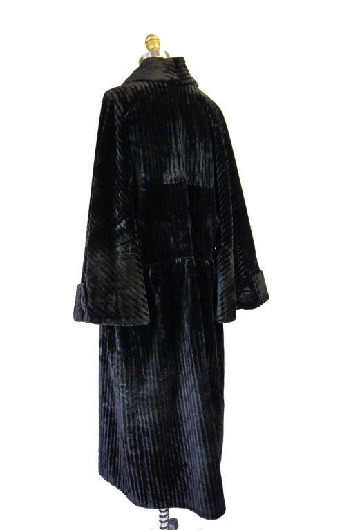 Teens/Early 1920s Velvet Flapper Coat 4