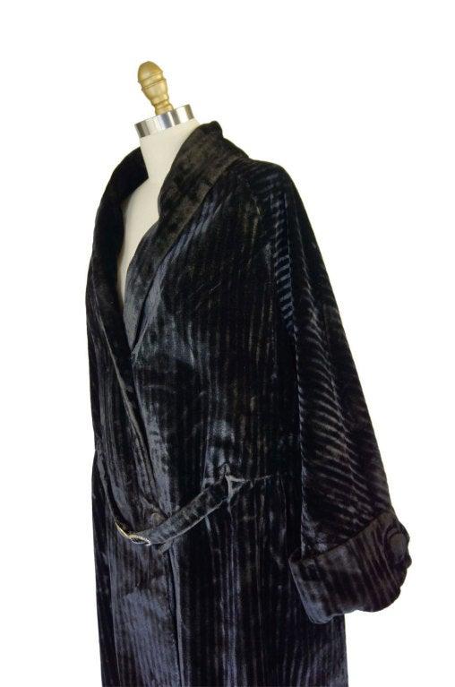 Teens/Early 1920s Velvet Flapper Coat 6