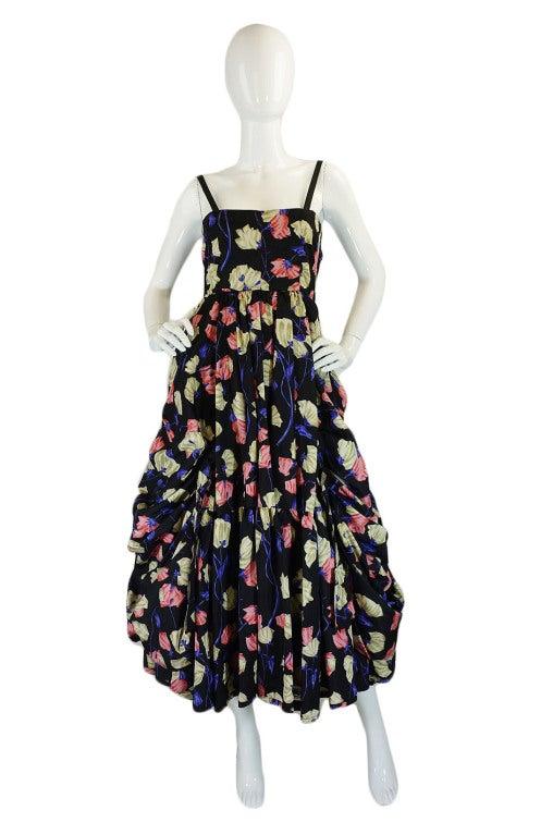 2008 Infamous Prada Couture Silk Dress image 2
