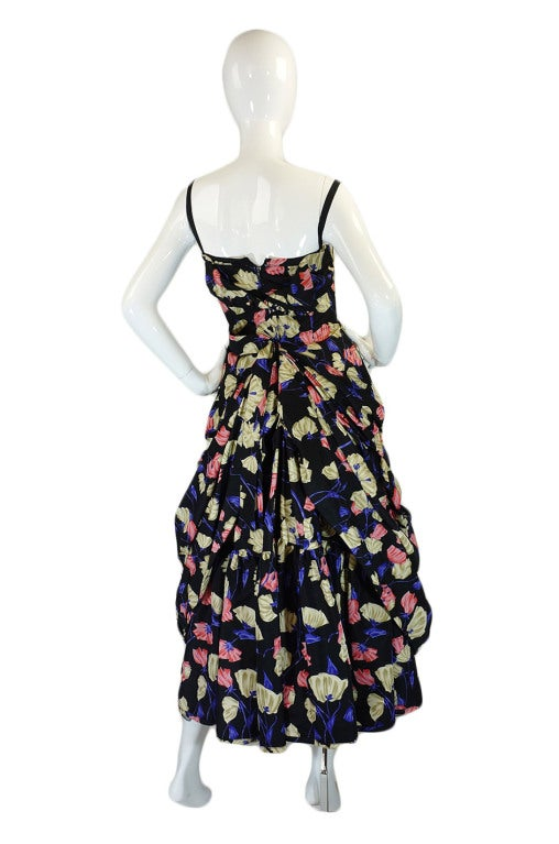 2008 Infamous Prada Couture Silk Dress image 3