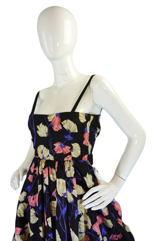 2008 Infamous Prada Couture Silk Dress image 5