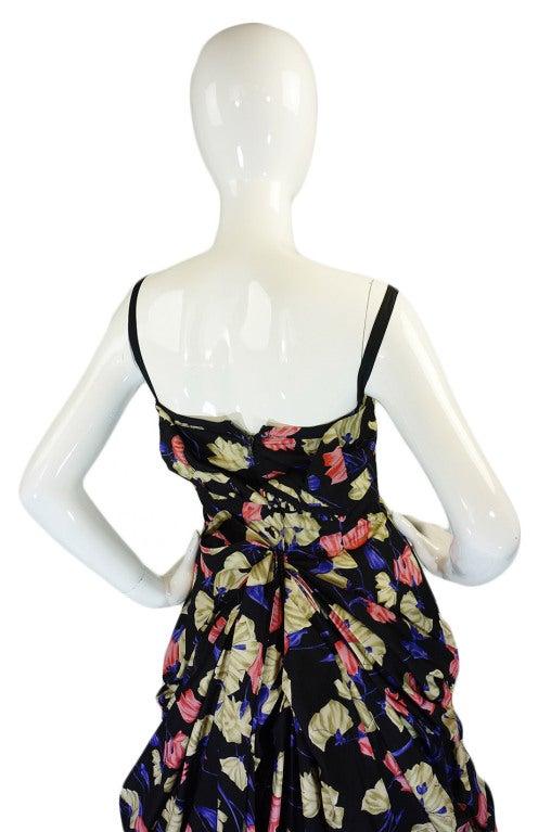 2008 Infamous Prada Couture Silk Dress image 6