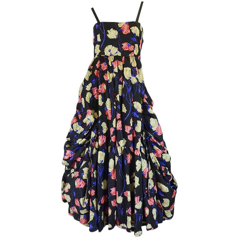 2008 Infamous Prada Couture Silk Dress