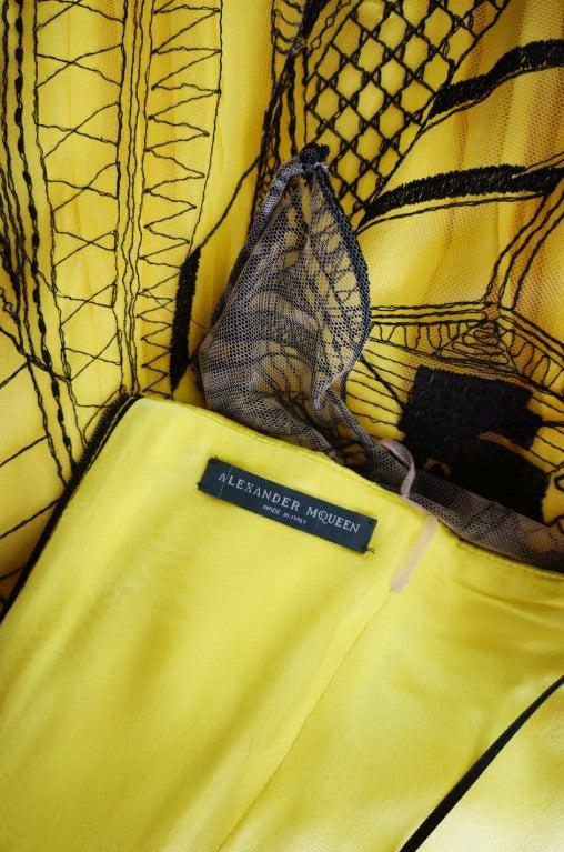 R2010 Alexander McQueen Tattoo Dress For Sale 7