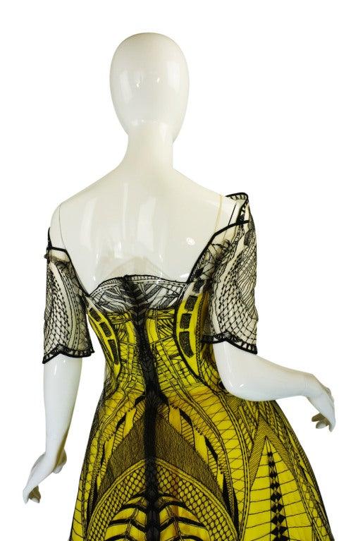 R2010 Alexander McQueen Tattoo Dress For Sale 2