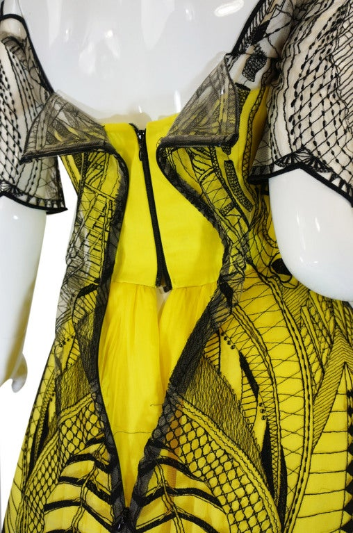 R2010 Alexander McQueen Tattoo Dress For Sale 5