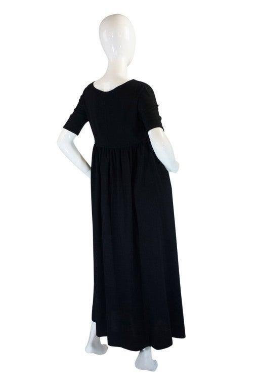 1970s Rudi Gernreich Plunge Knit Dress 3