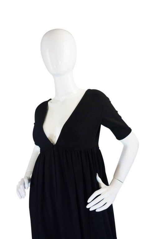 1970s Rudi Gernreich Plunge Knit Dress 5