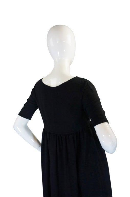 1970s Rudi Gernreich Plunge Knit Dress 6