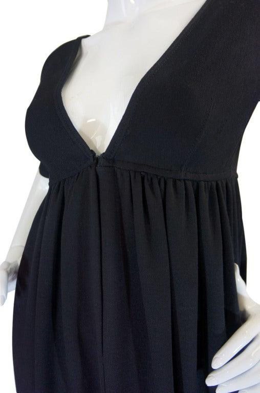 1970s Rudi Gernreich Plunge Knit Dress 7