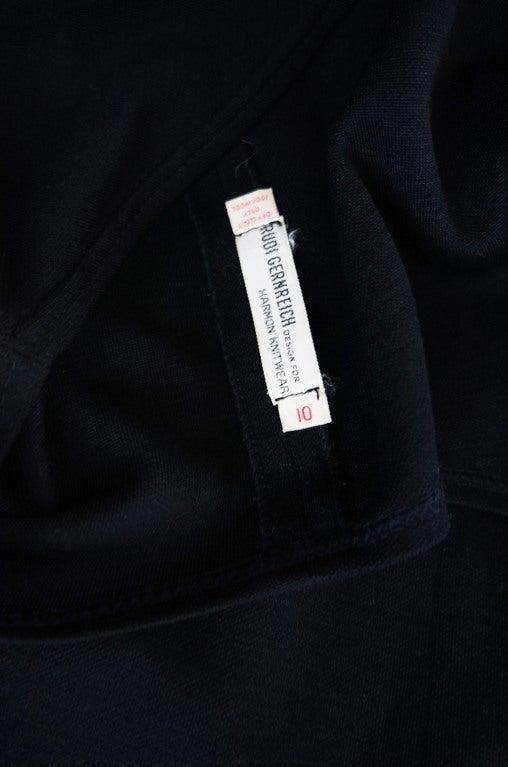 1970s Rudi Gernreich Plunge Knit Dress 8