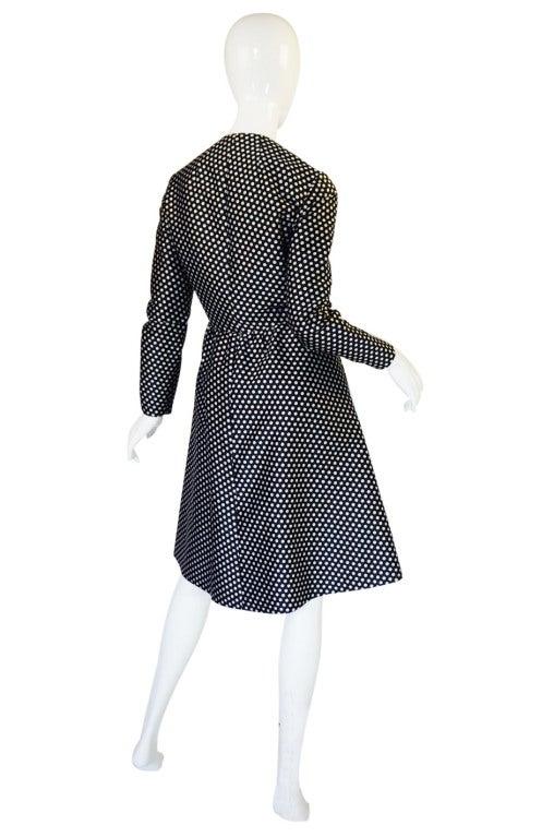 1960s Dotted Geoffrey Beene Dress 2