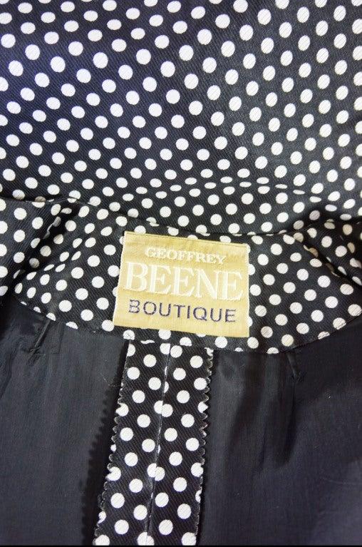 1960s Dotted Geoffrey Beene Dress 7