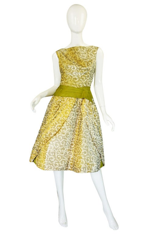 1950s Rare Ceil Chapman Dress & Coat 2