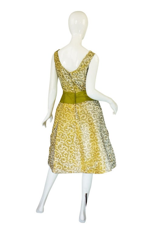 1950s Rare Ceil Chapman Dress & Coat 4