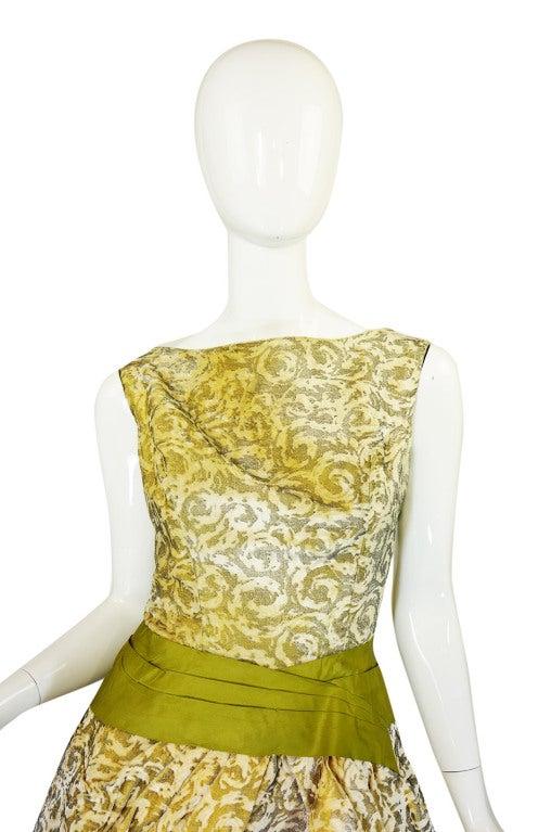1950s Rare Ceil Chapman Dress & Coat 5