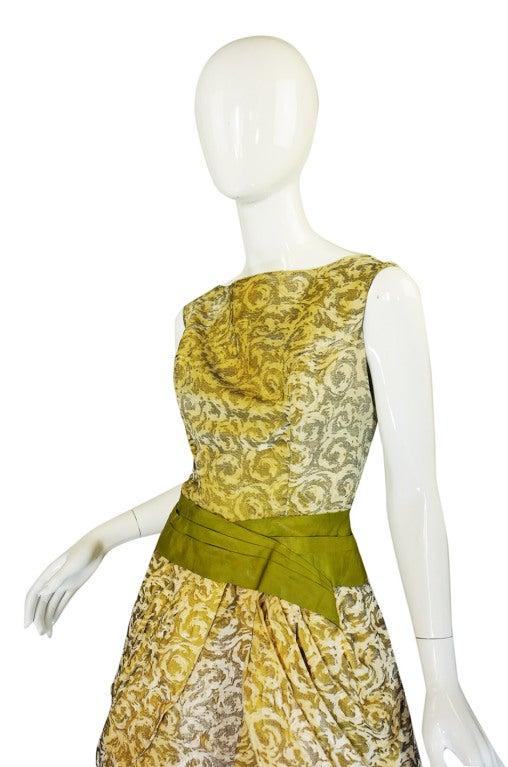 1950s Rare Ceil Chapman Dress & Coat 6