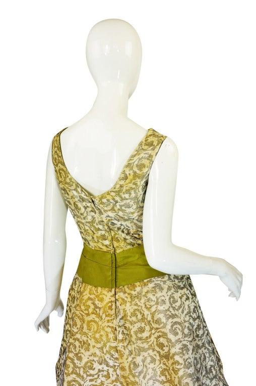 1950s Rare Ceil Chapman Dress & Coat 7