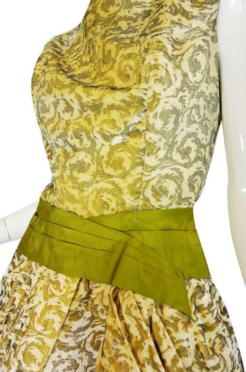 1950s Rare Ceil Chapman Dress & Coat 8