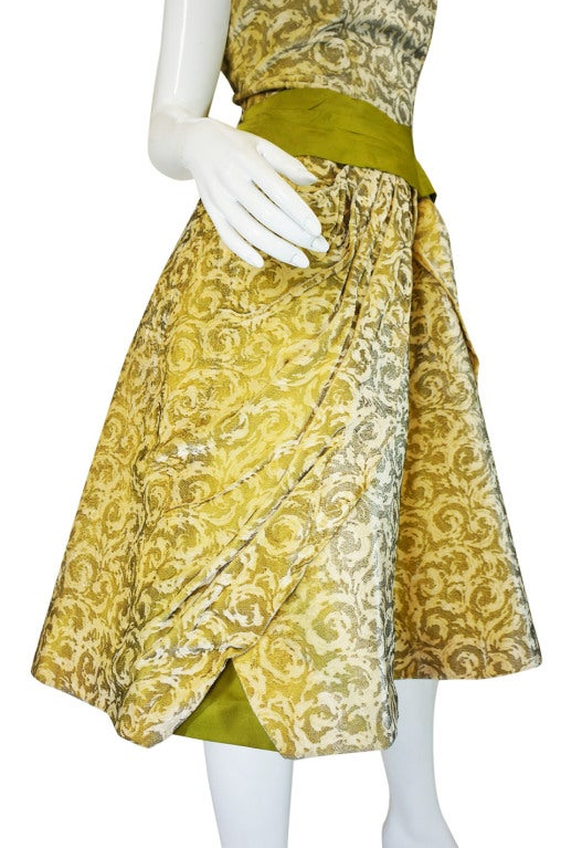 1950s Rare Ceil Chapman Dress & Coat 9