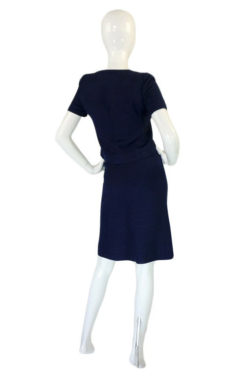 1960s courreges haute couture suit for sale at 1stdibs for Haute couture suits