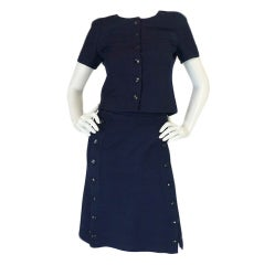 1960s Courreges Haute Couture Suit