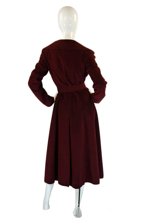 1972 Halston Ultra Suede Trench Coat 3